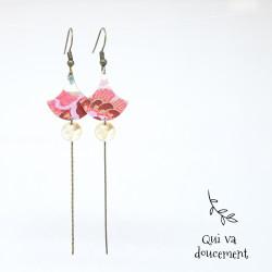 Isha - bohème rose & kaki