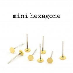 Clou - mini hexagone