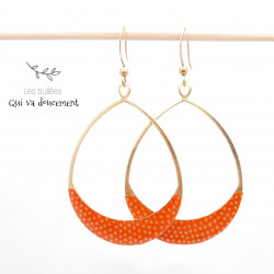 Otosu samekomon orange & doré