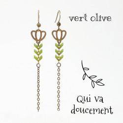 Tulipe vert olive