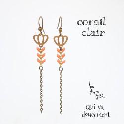 Tulipe corail clair